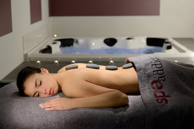Image result for addict having spa